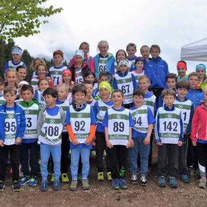 Gruppenfoto Jugendberglauf